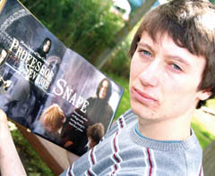 Alec Hopkins (Teenager Severus Snape in HP5)