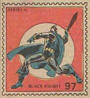 Black Knight Marvel Value Stamp