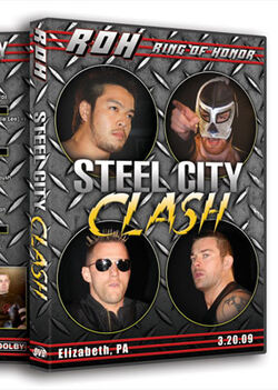 ROH Steel City Clash
