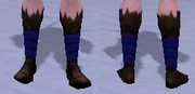 Mystic's Slippers, Snow Background, NE Female