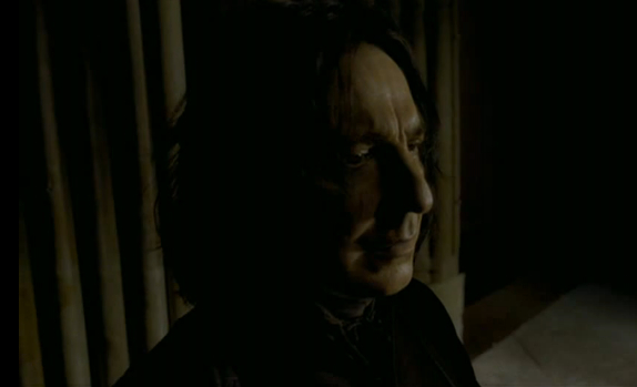 Snape Profile (HBP Film Deleted Scene)