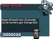 Minor Healing Kit