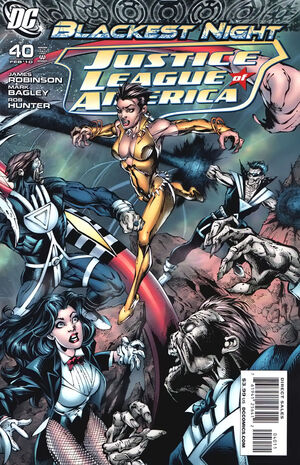 Cover for Justice League of America #40