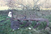 David Brown CM4 10-12 plough 4 furrow at DB Club sale IMG 3991