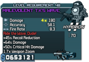 Cheater malevolent tks wave smg