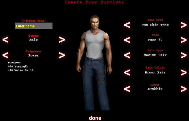"""Create Your Survivor"""