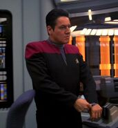 The Doctor, as Chakotay