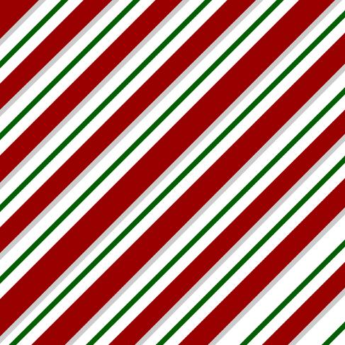 Christmas Candy Cane Stripe Background Bathroom Vanities