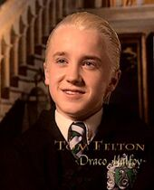 Tom Felton (Draco Malfoy) CoS screenshot
