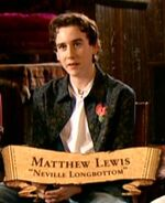 Matthew Lewis (Neville Longbottom) PoA screenshot