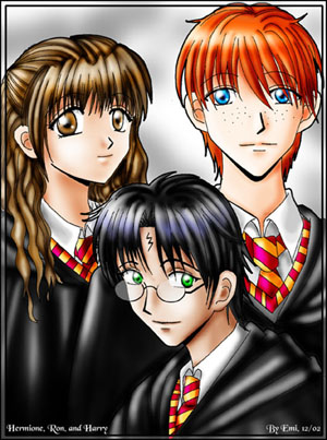 HP anime