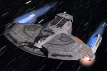 Saber class starship