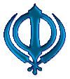 Khanda Blue small