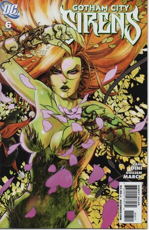 Cover for Gotham City Sirens #6