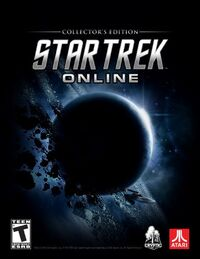 Star Trek Online collector's cover
