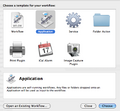 Automator new application sheet.png