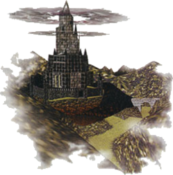 Ganon's Castle Artwork (Ocarina of Time)