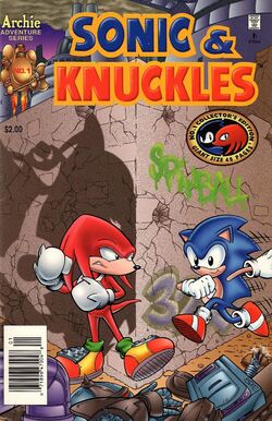 Archie Sonic &amp; Knuckles Issue 1