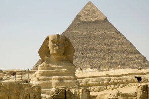 Sphinx pyramid