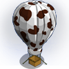 Cowprint Balloon-icon