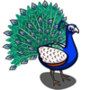 Peacock-icon
