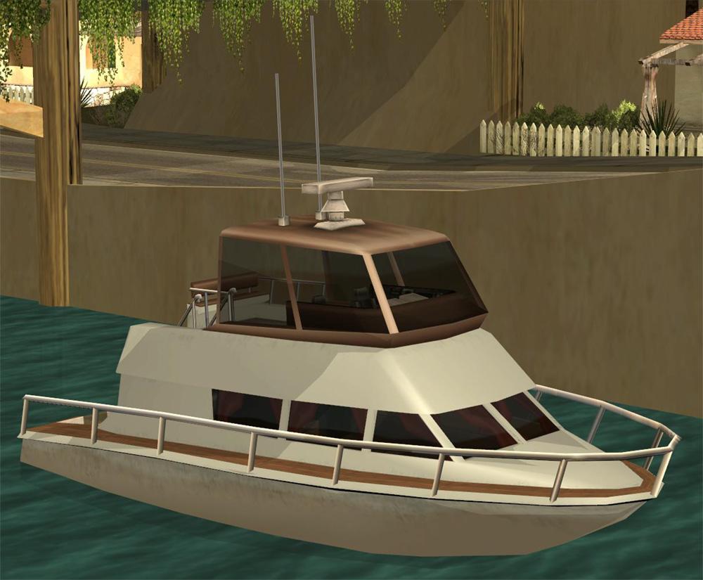 Как сделать лодку в гта