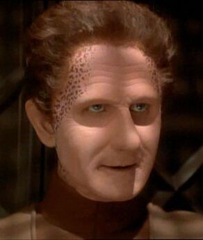 Odo as Curzon