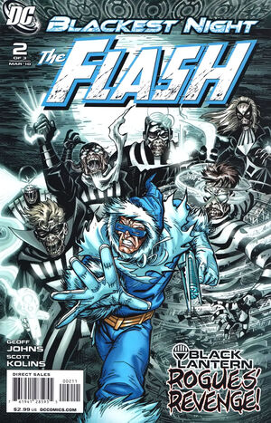 Cover for Blackest Night: Flash #2