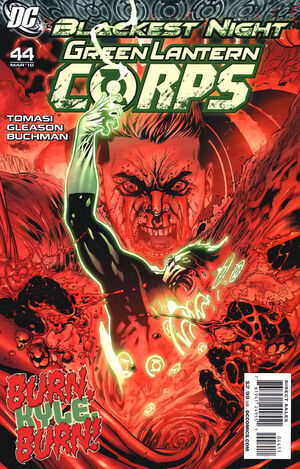 Cover for Green Lantern Corps #44