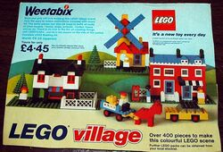00-7-Weetabix Promotional Lego Village