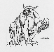 FB7 deathclaw concept art