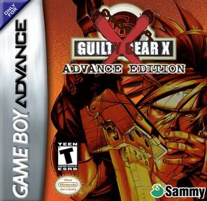Guilty Gear X Advance Edition Box Art