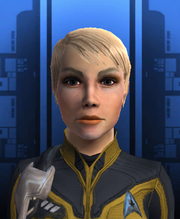 Commander Jenna Romaine