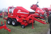 Lely Welger RP235 Baler wrapper at LAMMA 10 - IMG 7953