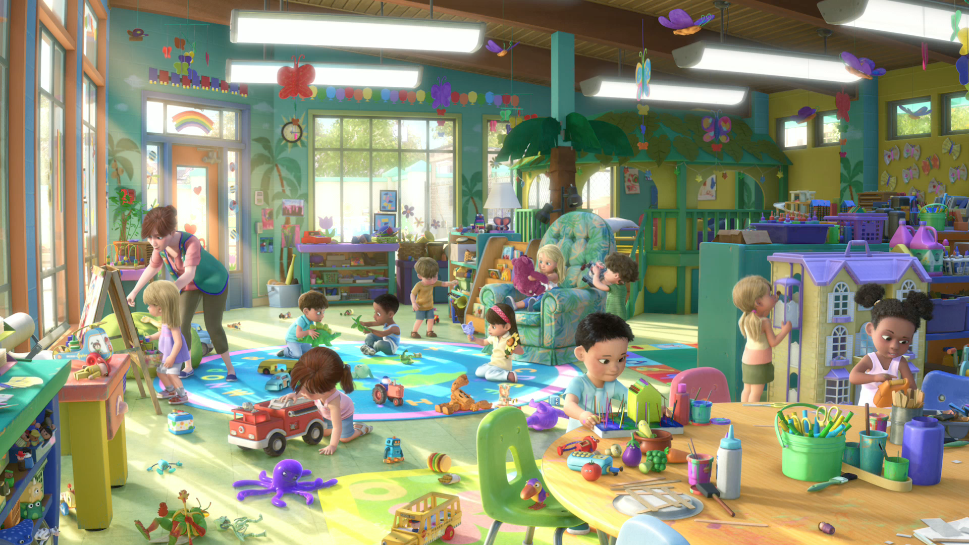 Toy Story Day Care : Sunnyside daycare pixar wiki disney animation
