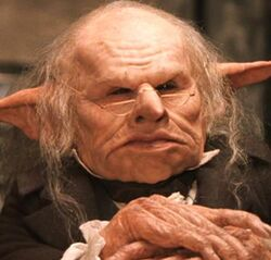 Gringotts Head Goblin