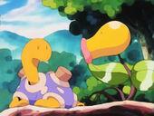 Pokemon shiny 170px-EP172_Shuckle_Morado_junto_a_Bellsprout