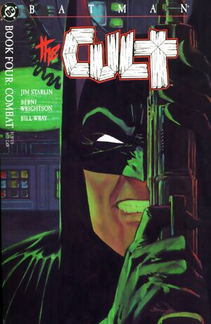 Cover for Batman: The Cult #4
