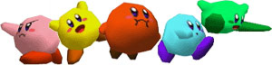Kirby Colors SSB