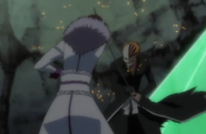 Muramasa fights Vizard Ichigo