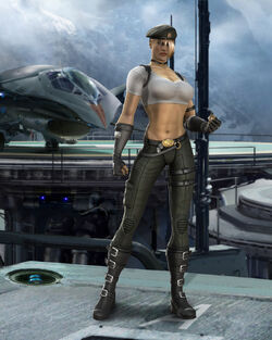 Sonya blade from mk vs dc1785