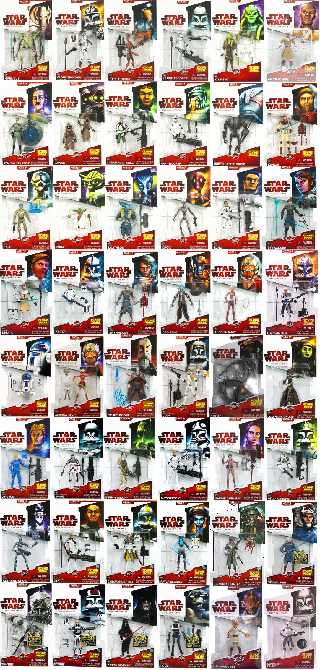 Star wars the clone wars toy line wookieepedia the star wars
