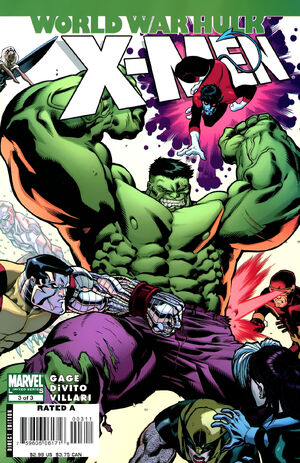World War Hulk X-Men Vol 1 3