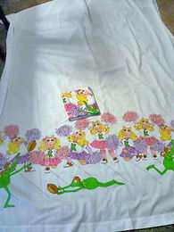 Piggy flat sheet 2