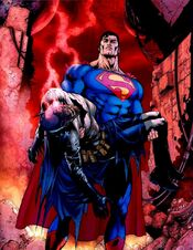 Batman's death in Final Crisis