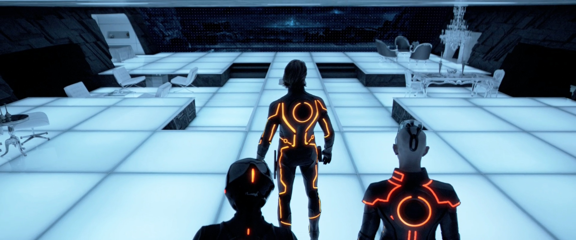 Tron legacy and rose water sprinklers for Legacy house