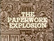 Paperwork-explosion