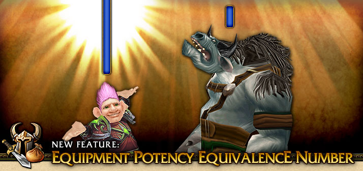 Equipment Potency EquivalencE Number banner