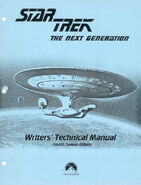 Star Trek The Next Generation Writers Technical Manual season 4