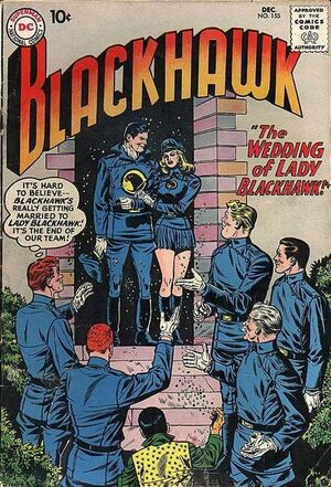 Cover for Blackhawk #155